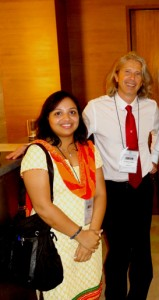 With Dr Adnaan custovik,UK