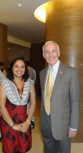 with Dr Stephen fineman,USA